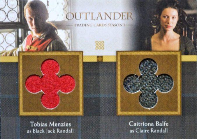 DM2 - Tobias Menzies as Black Jack Randall and Caitriona Balfe as Claire Randall
