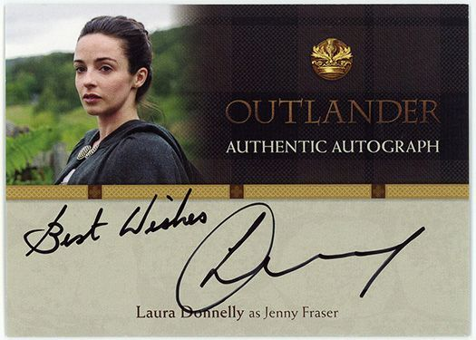 LD – Laura Donnelly as Jenny Fraser