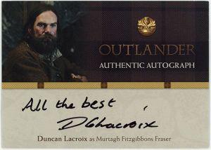 DL – Duncan Lacroix as Murtagh Fitzgibbons Fraser