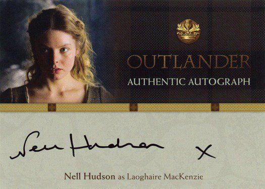 NH – Nell Hudson as Laoghaire MacKenzie