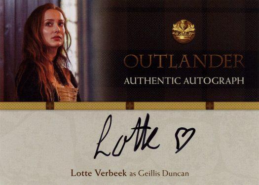 LV - Lotte Verbeek as Geillis Duncan