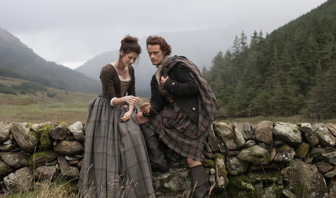 Jamie and Claire