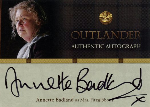 AB - Annette Badland as Mrs. Fitsgibbons