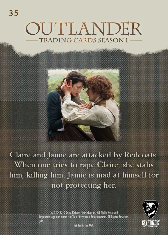 Base 35b - Claire Defends Herself