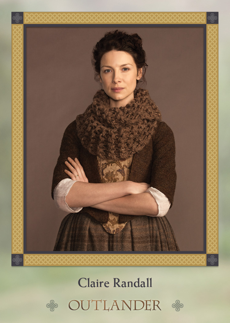 Characters Chase Card C3 Frank 50 Outlander Season 3 Red Crest