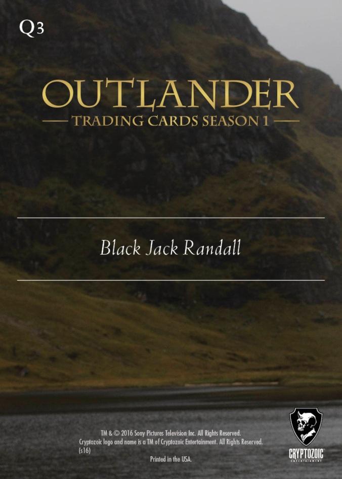 Q3b - Black Jack Randall