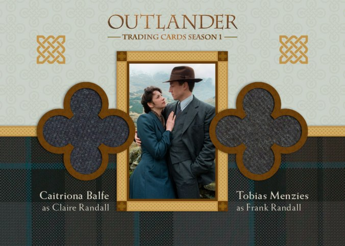 DM1 - Caitriona Balfe as Claire Randall and Tobias Menzies as Frank Randall
