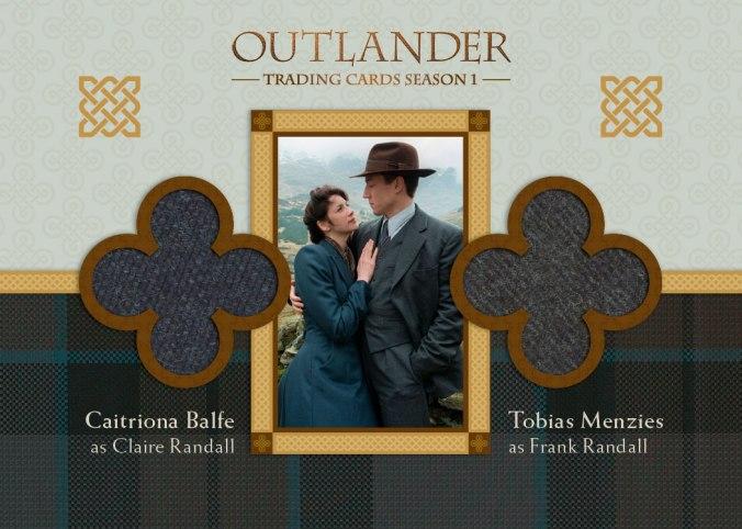 DM1 - Caitriona Balfe as Claire Randall and Tobias Menzies as Frank Randall