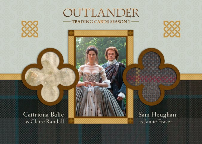 DM6 - Caitriona Balfe as Claire Randall and Sam Heughan as Jamie Fraser
