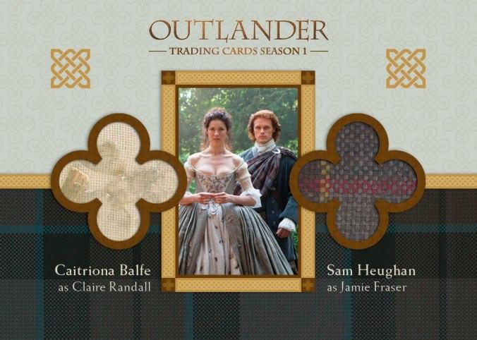 DM6 - Caitriona Balfe as Claire Randall and Sam Heughan as Jamie Fraser