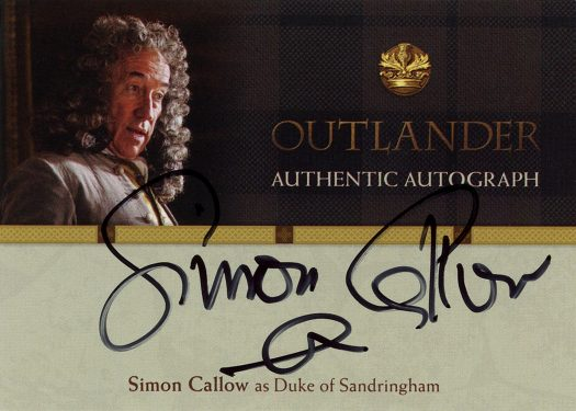 SC - Simon Callow as Duke of Sandringham