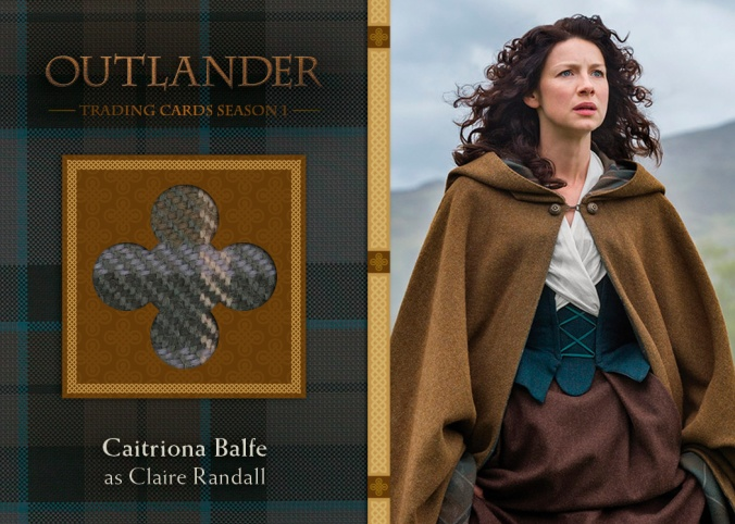 M13 - Caitriona Balfe as Claire Randall