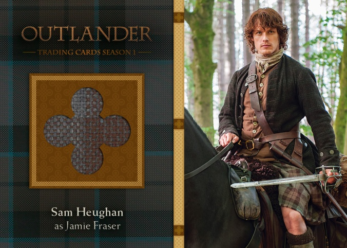 M22 - Sam Heughan as Jamie Fraser