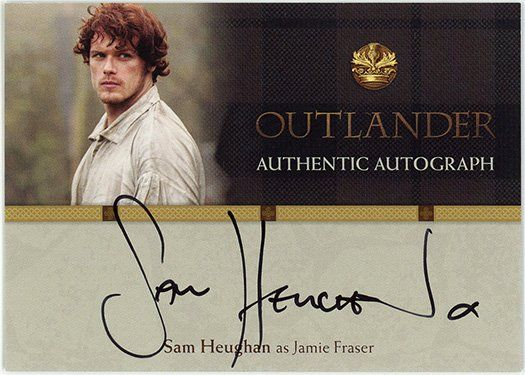 SH – Sam Heughan as Jamie Fraser