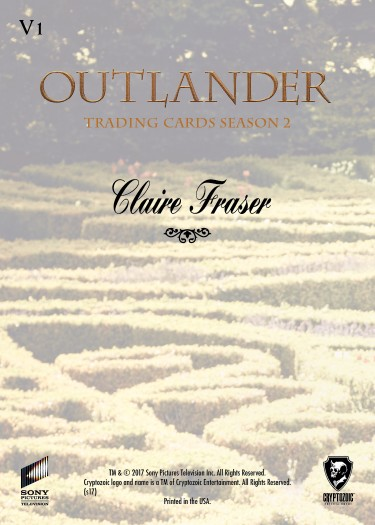 Outlander season 2 Gardens of Versailles V1 V9