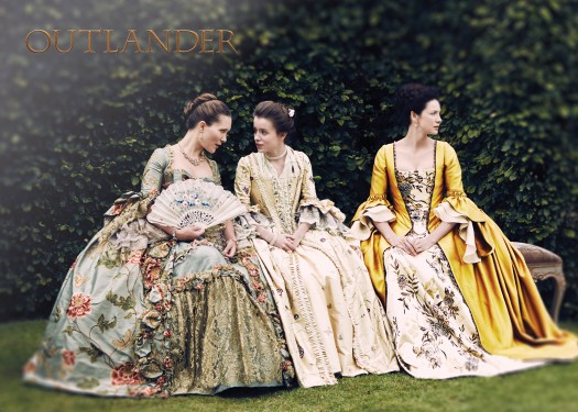V6 - Louise de Rohan, Mary Hawkins and Claire Fraser