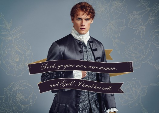 Outlander Season 2 Quotes Chase Card Q9 While I draw breath on this earth