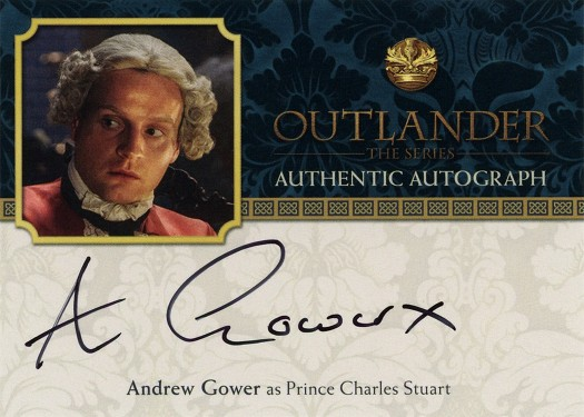 AG - Andrew Gower as Prince Charles Stuart
