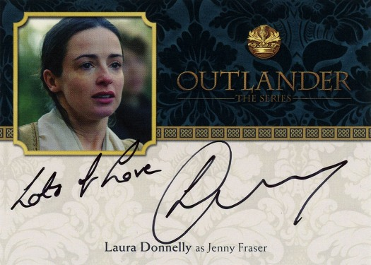 LD - Laura Donnelly as Jenny Fraser