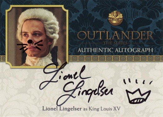 LL - Lionel Lingelser as King Louis XV