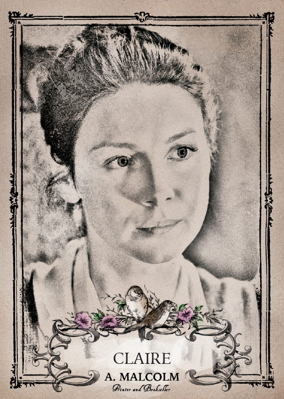 Outlander Season 3 Canvas Characters Chase Card C1 Claire