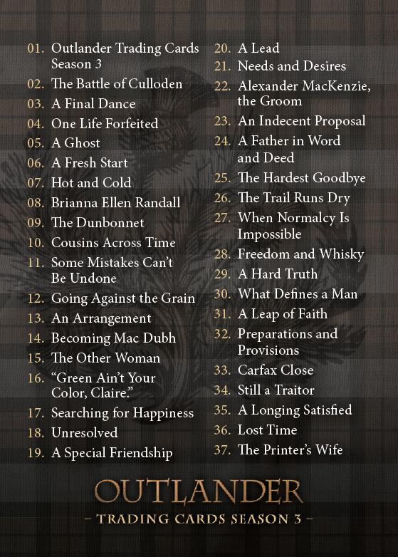 Checklist Card Front