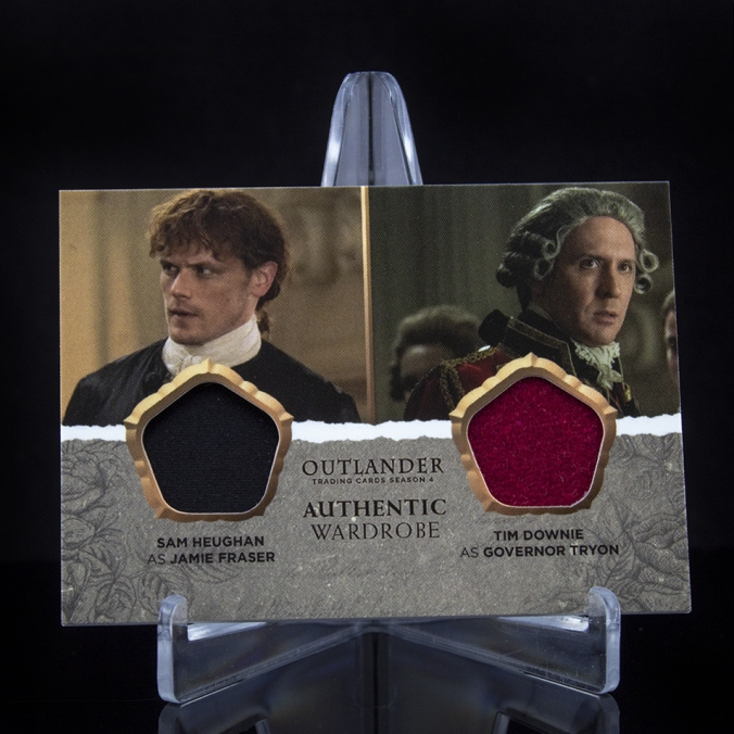 DM13 - Sam Heughan as Jamie Fraser and Tim Downie as Governor Tryon